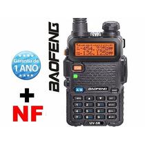 Radio Ht Dual Band(uhf+vhf) Baofeng Uv-5r + Fone Pronta Ent!