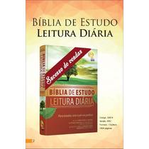 Bíblia De Estudo E Leitura Diária (leiam A Descrição)
