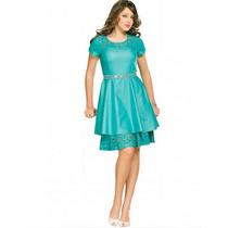 Vestido Fascinius Moda Evangélica