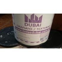 Grafiato Barrica Cor Areia Marca Dubai 25kg - Aceita Troca!