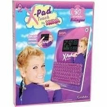 Tablet X Pad Touch Da Xuxa 80 Atividades Candide Promoção