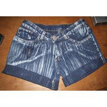 Shorts Jeans Customizado Tamanho 40