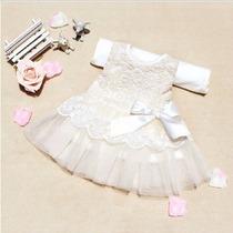 Vestido Batizado / Saida De Maternidade Pronta Entrega