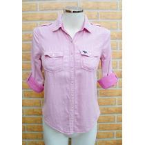 Camisa Xadrez Abercrombie Hollister Feminina Original