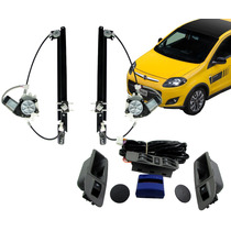 Kit Vidro Elétrico Fiat Palio Novo 4 Portas Traseiro