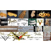 Adesivo Fender Wasterslide Guitarra Frete Gratis