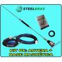 Kit Px Veicular Steel: Antena + Base Magnética Top De Linha