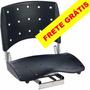 Cadeira Barco Giratória Dobrável, Assento Grande Em Pvc 56