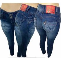 Calça Jeans Feminina Cavalera Mesclada Cv01