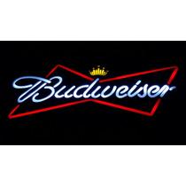 Placa Budweiser Luminoso - Decoração Bar,pub,varanda - Linda