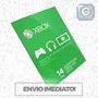 Xbox Live Gold Br Usa Cartão 14 Dias - Envio Imediato