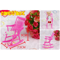 Cadeira De Balanço De Bebê (+ Bebezinho ) P/ Boneca Barbie