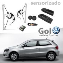 Kit Vidro Elétrico Sensorizado Gol 2014 2 Portas G6 S/juros