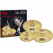 Kit Pratos Meinl Bcs 14 16 20 Liga Ms63 6027 Completo