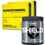 2 Somatodrol - Iridium Labs + 1 Shield 300g - Black Skull