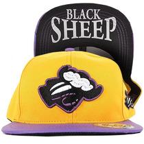 Boné Black Sheep Yellow Aba Reta