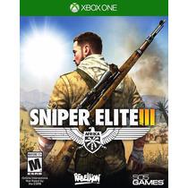 Sniper Elite 3 Xbox One Mídia Física Lacrada