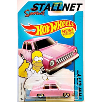 Hot Wheels The Simpsons Family Car Hw City # 56