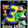 Toy Story 3 The Video Game > Play3 Ps3 Psn Jogo Midia Dig
