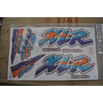 Jogo De Faixa Honda Xlr125 1997 Vermelho