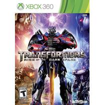 Transformers: Rise Of The Dark Spark - Xbox 360 - Nacional!