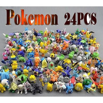 24 Miniaturas Personagens Pokemon Monster Novo - Barato 01