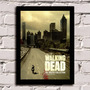Poster Com Moldura The Walking Dead 1 Temporada!