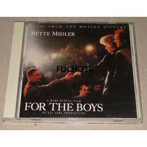 Cd Trilha For The Boys Para Eles Com Muito Amor Bette Midler