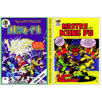1 Dvd -o Mestre Do Kung Fu + 170 Revistas Digitalizadas
