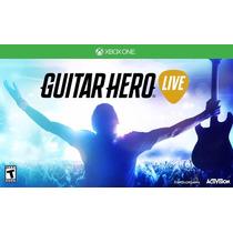 Guitarra Com Jogo Guitar Hero Live Bundle Para Xbox One
