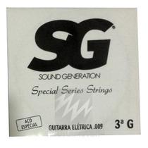 Corda Guitarra Avulsa 3 G Sol 016 Aço Special Series Sg 2457