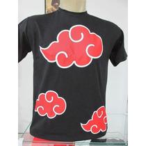 Camiseta Naruto Akatsuki Animes