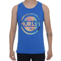 Camiseta Masculina Hurley Regata Puck