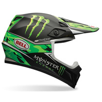 Capacete Bell Mx-9 Monster Pro Circuit Carmo Green Tam. 58