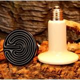 Lampada Aquecimento Cerâmica 100w 220v Repteis/ Aves/ Cobras