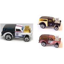 Hot Wheels Coleção Morris Wagon Caminhão Tunado Show