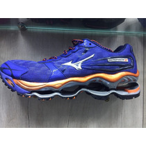 Mizuno Wave Prophecy 2 Roxo/laranja Original Super Oferta !!