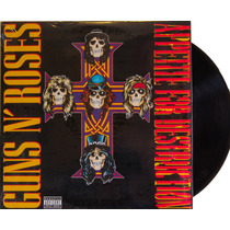 Lp Vinil Guns N Roses Appetite For Destruction Novo Lacrado