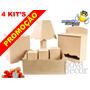 Kit Higiene Bebê - Promoção 4 Kit's Lisos 7 Peças - Mdf Cru