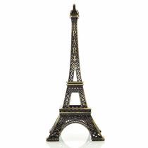 Enfeite Miniatura Metal Torre Eiffel Paris 18cm Decoração