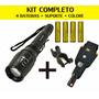 Lanterna Tática + Kit Completo 1.080.000 Lumens Led T6 Forte