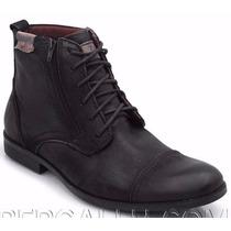 Sapato Bota Masculina Rustica C Ziper Facil Estilo Freeway