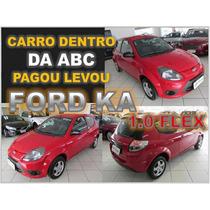 Ford Ka 1.0 Flex Ano 2013 - Financio Sem Burocracia Alguma