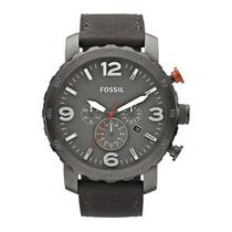 Relógio Masculino Fossil Nate Fjr1419z Aço Inox Original