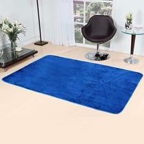 Tapete Sala Quarto 2,00m X 1,40m - Azul Royal