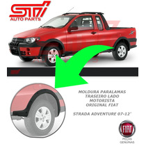 Moldura Paralama Traseiro Motorista Fiat Strada Adventure
