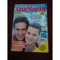 Revista Ana Maria Marcos Frota Carolina Dieckmann Ano 1997