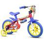 Bicicletinha Bicicleta Infantil Menino Aro12 Fire Man Nathor