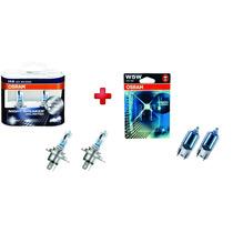 Lampada Osram Night Breaker Unlimited Kit H4 + Pingão 4000k
