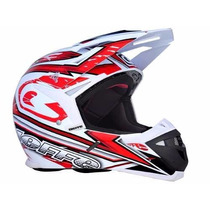 Capacete Big Trial Bieffe Mx Tech Fibra De Carbono
